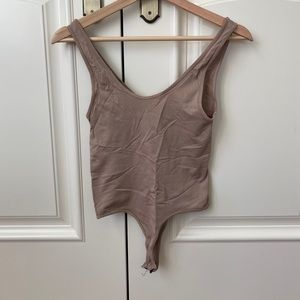 Nude/Tan Bodysuit